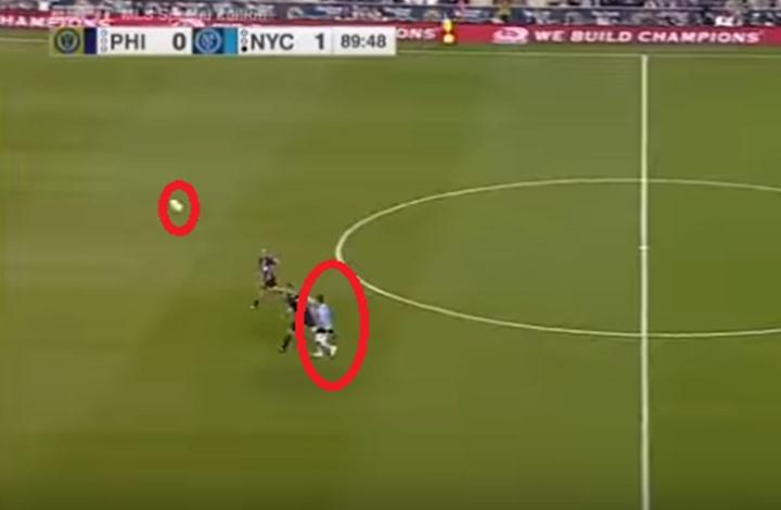 شاهد … دافيد فيا سجل هدفاً خرافياً نادراً ما يشاهد مثله عشاق الكرة