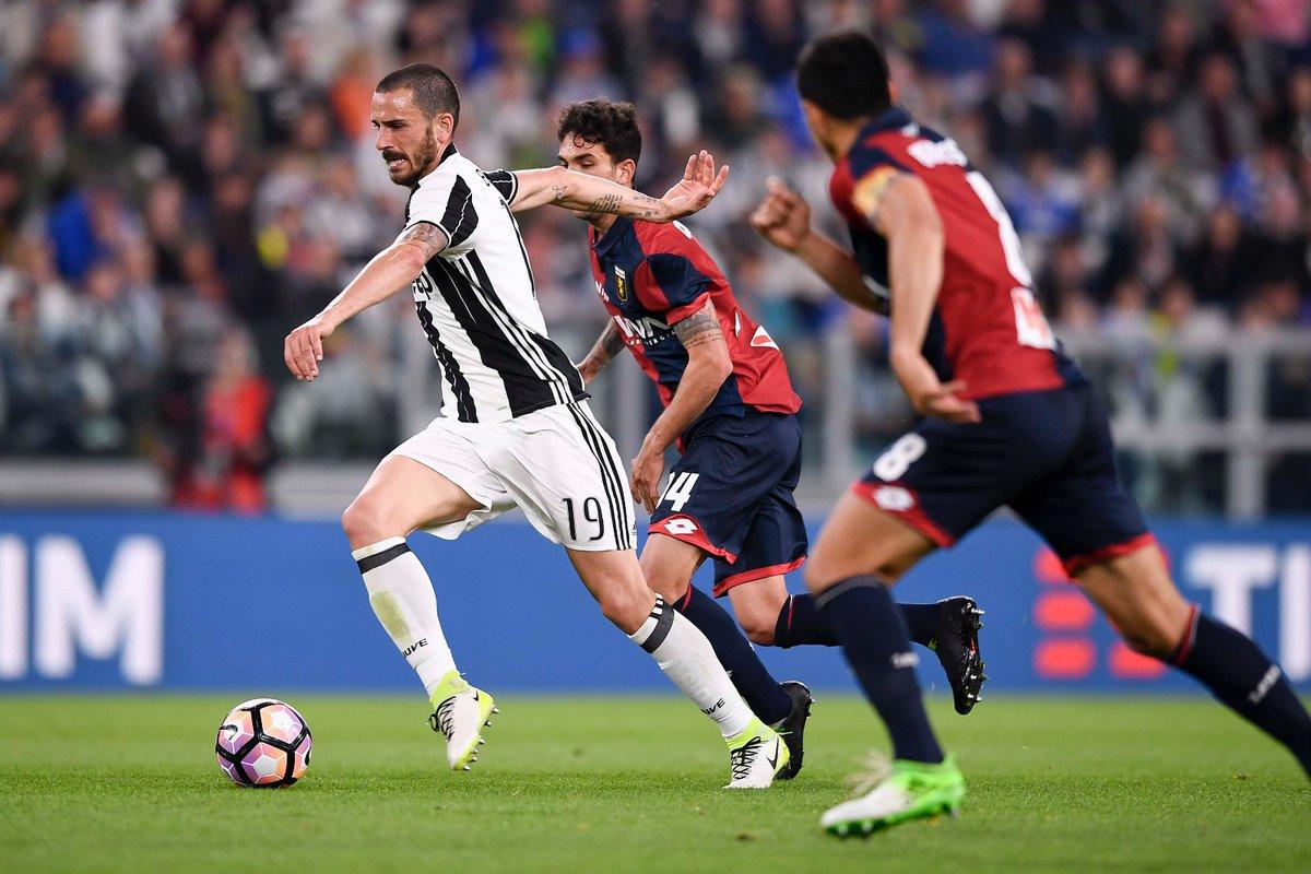 بالفيديو: يوفنتوس يقترب من لقب الدوري الإيطالي برباعية فى جنوى