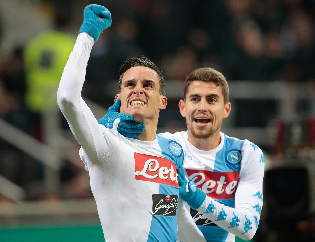 اهداف مباراة نابولي و إنتر ميلان 1-0 الدوري الإيطالي