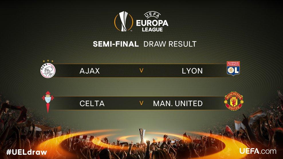 عاجل ورسمياً … قرعة الدور نصف النهائي في الدوري الأوروبي