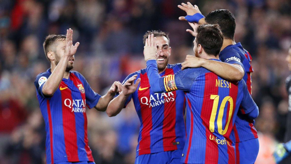 بالفيديو: برشلونة يتخطى ريال سوسييداد ويواصل مطاردته لريال مدريد