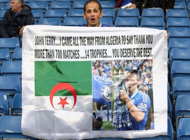 مشجع جزائري