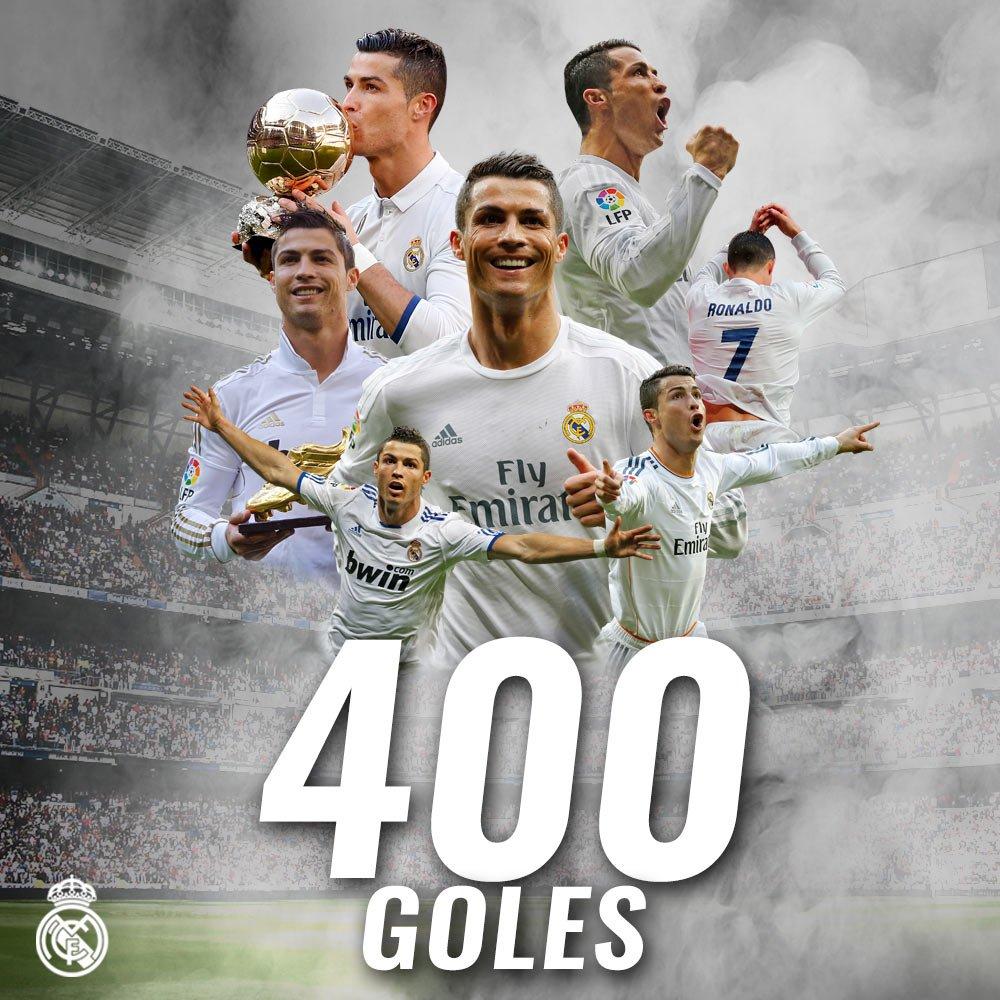 رونالدو يصل للهدف 400 مع ريال مدريد