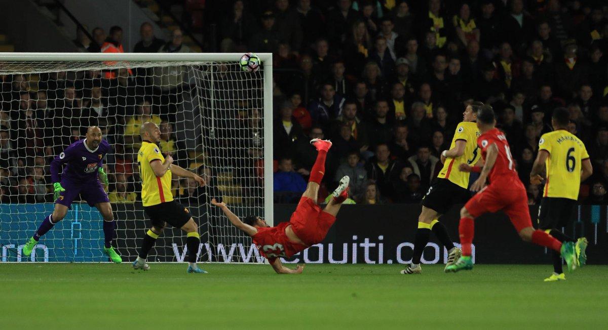 أهداف مباراة ليفربول و واتفورد 1-0 الدوري الإنجليزي