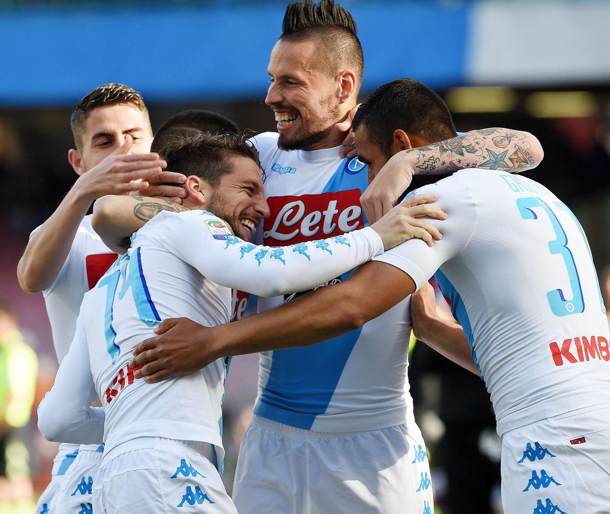 أهداف مباراة نابولي وكالياري 3-1 الدوري الإيطالي