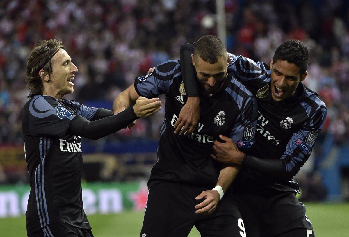 أهداف مباراة ريال مدريد و أتلتيكو مدريد 1-2 دوري الأبطال