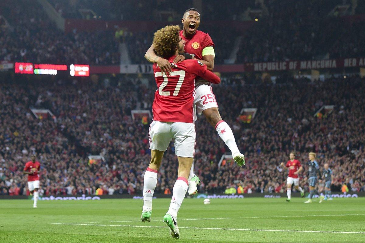 أهداف مباراة مانشستر يونايتد وسيلتا فيغو 1-1 الدوري الأوروبي