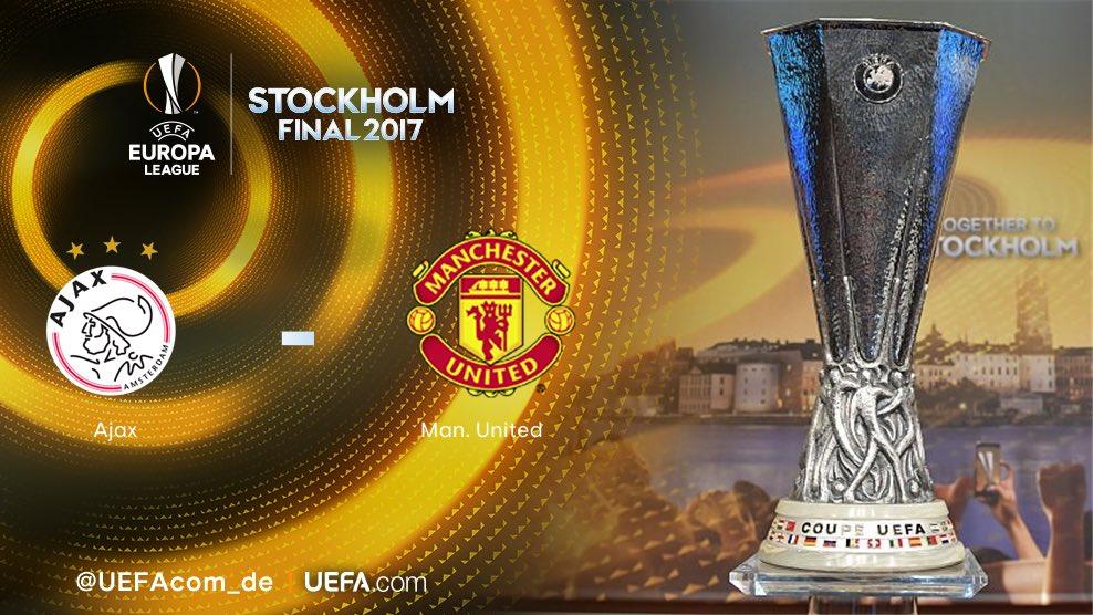 رسمياً …. نهائي الدوري الأوروبي سيجمع بين ناديي مانشستر يونايتد وأياكس أمستردام