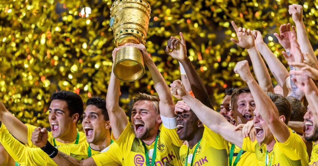 بالفيديو: بروسيا دورتموند بطلاً لكأس ألمانيا على حساب فرانكفورت