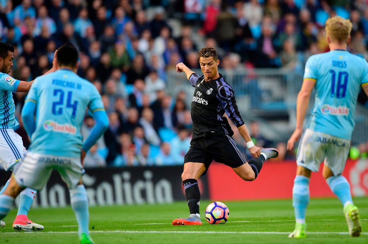 أهداف مباراة ريال مدريد و سيلتا فيغو 4-1 الدوري الإسباني