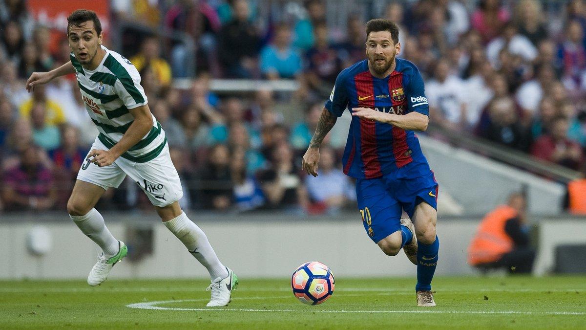 أهداف مباراة برشلونة و إيبار 4-2 الدوري الإسباني