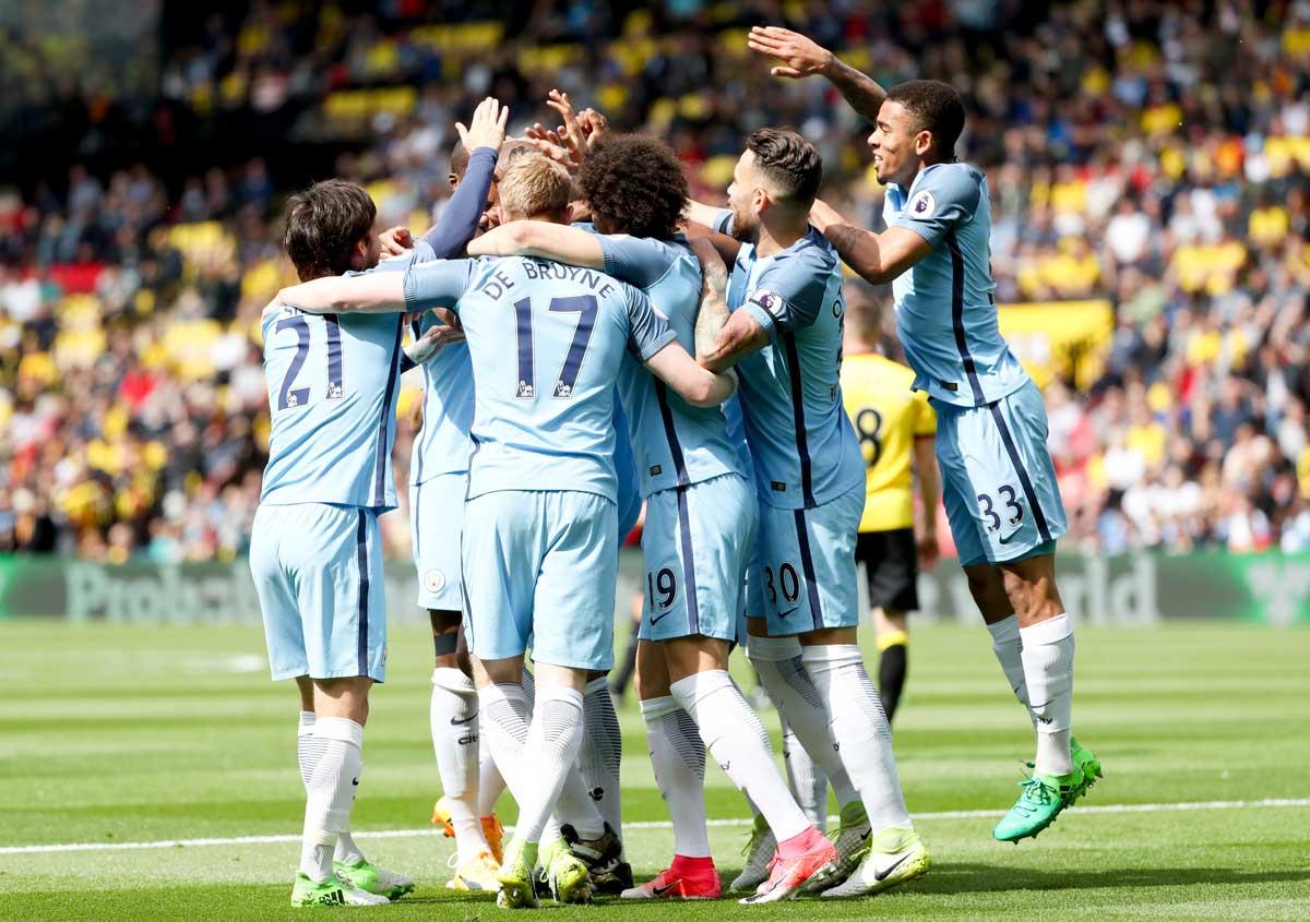 أهداف مباراة مانشستر سيتي وواتفورد 5-0 الدوري الإنجليزي