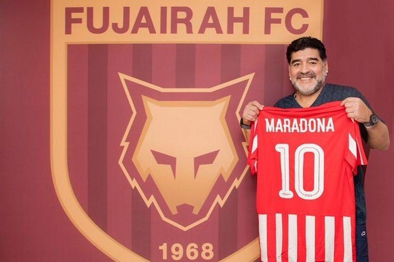 رسمياً … مارادونا مدرباً جديداَ لفريق الفجيرة الإماراتي