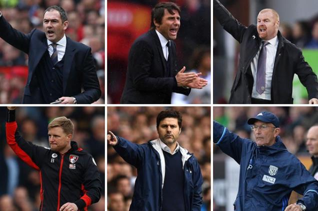 الكشف عن المرشحين النهائيين لجائزة مدرب العام في الدوري الإنجليزي