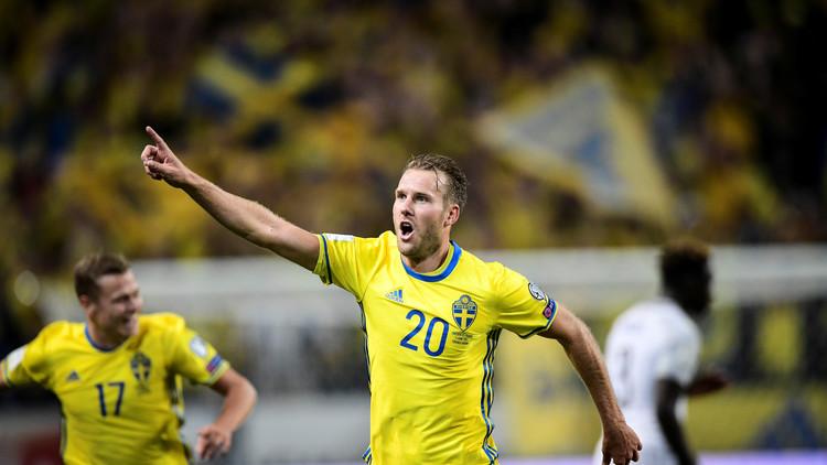 أهداف مباراة السويد و فرنسا 2-1 تصفيات كأس العالم 2018