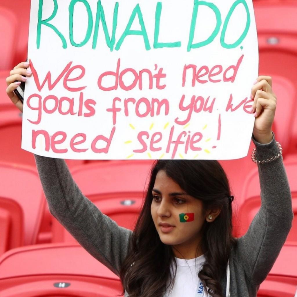 مشجعات المنتخب البرتغالي