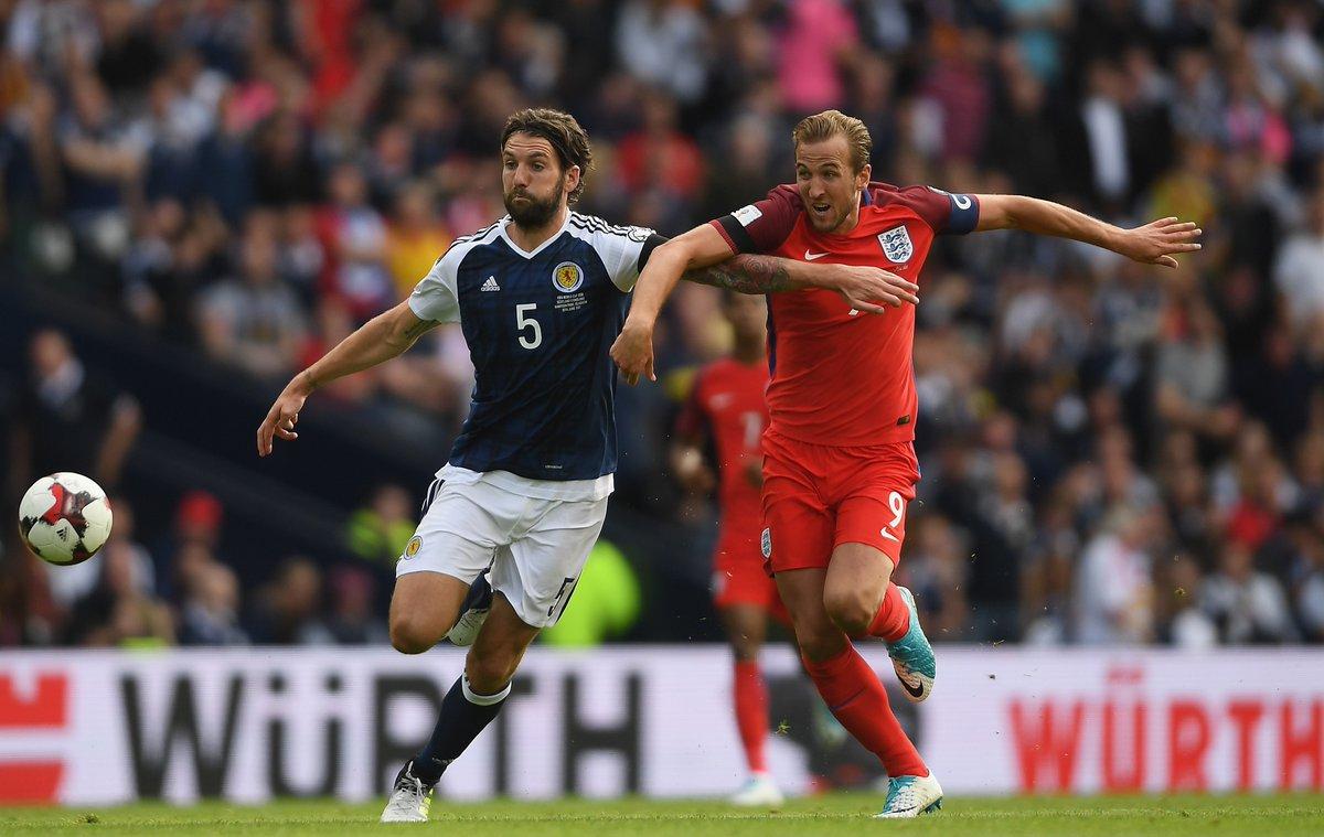 أهداف مباراة أسكتلندا وإنجلترا 2-2 تصفيات كأس العالم 2018