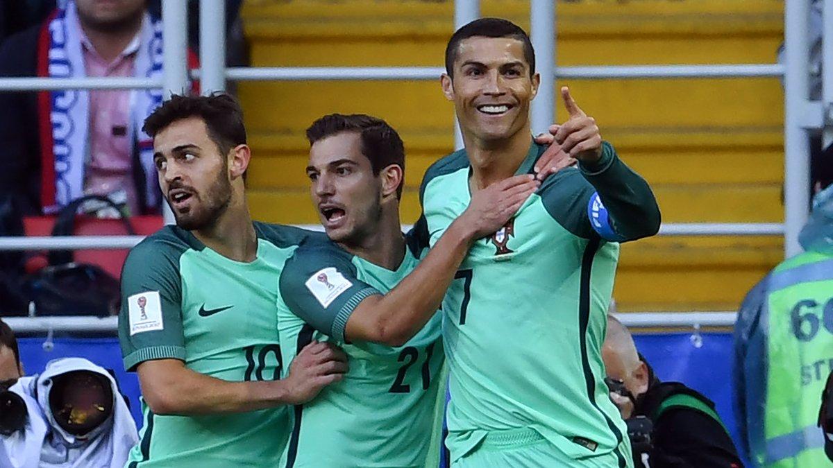 أهداف مباراة البرتغال و روسيا 1-0 كأس القارات