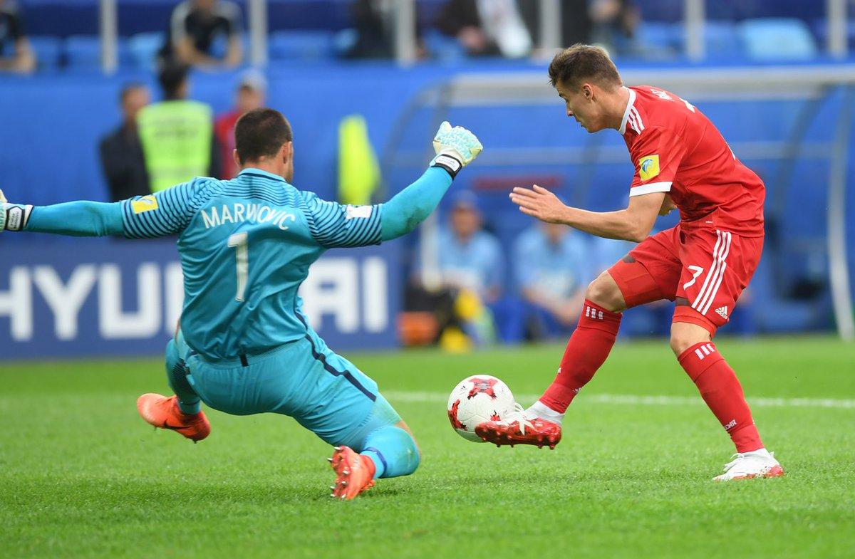 أهداف مباراة روسيا و نيوزيلندا 2-0 كأس القارات