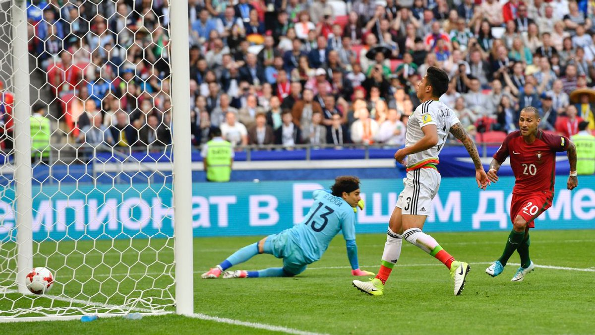 أهداف مباراة البرتغال والمكسيك 2-2 كأس القارات