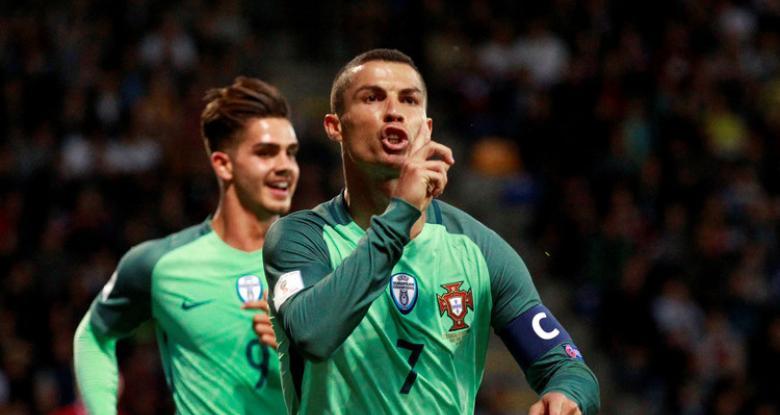 أهداف مباراة البرتغال و لاتفيا 3-0 تصفيات كأس العالم