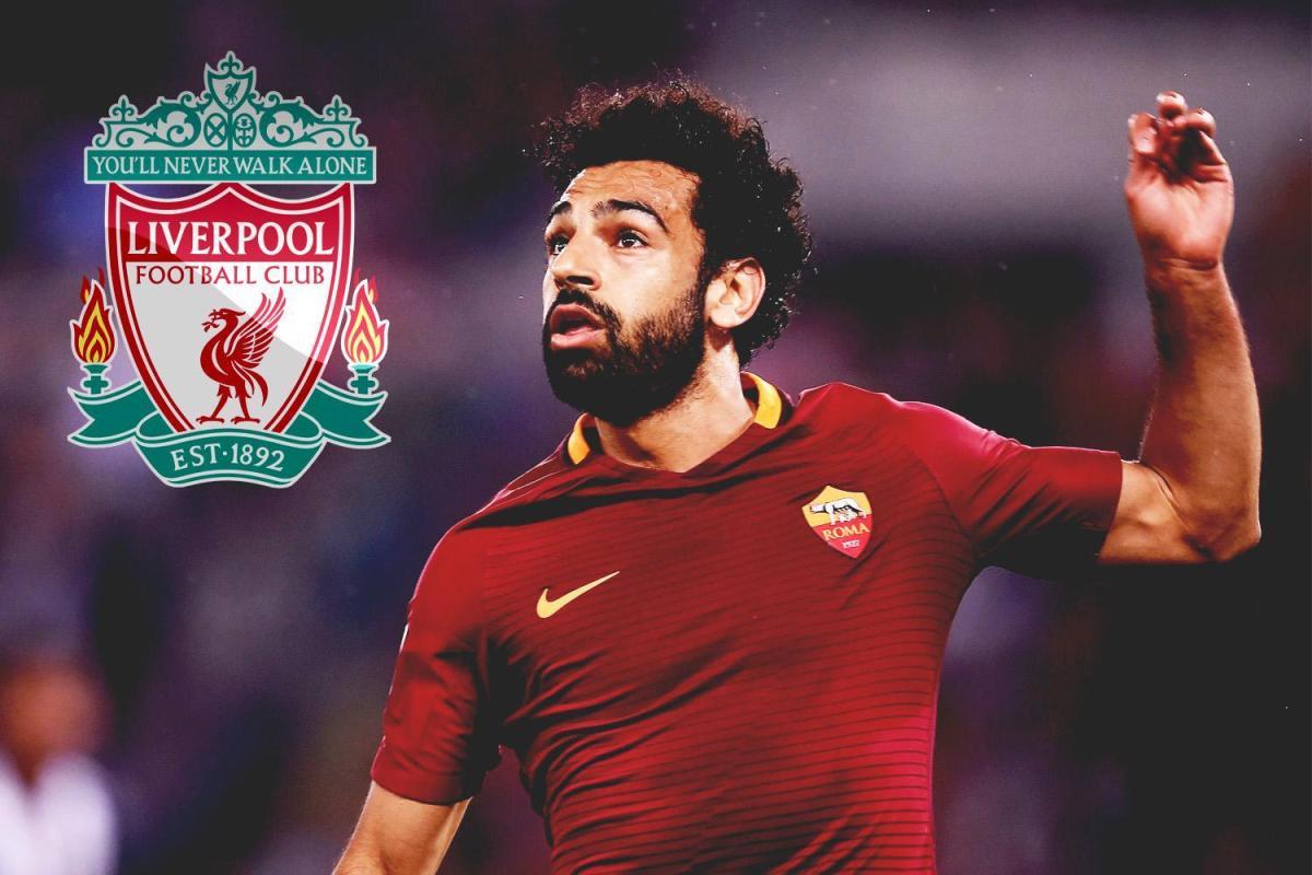 روما يوافق على انتقال محمد صلاح الى ليفربول