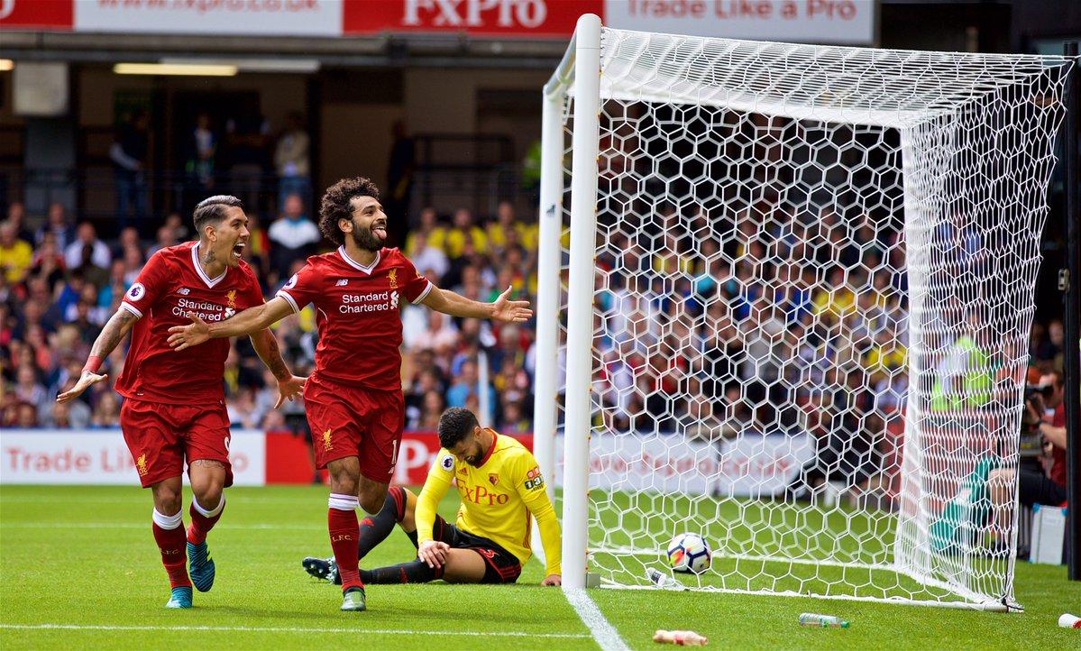 أهداف مباراة ليفربول ووتفورد 3-3 الدوري الإنجليزي