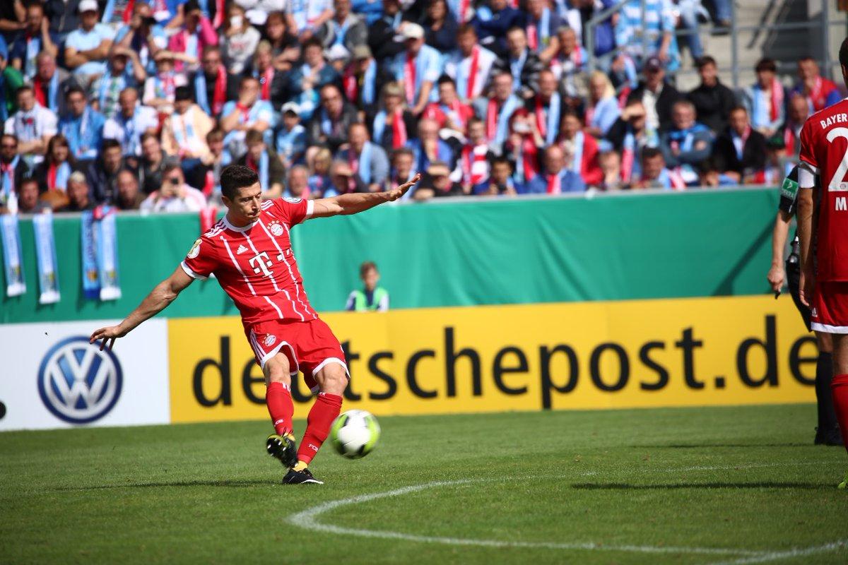 أهداف مباراة بايرن ميونخ و كيمنيتسر 5-0 كأس ألمانيا