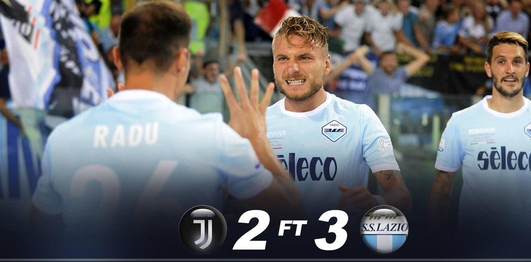 أهداف مباراة لاتسيو ويوفنتوس 3-2 كأس السوبر الإيطالي