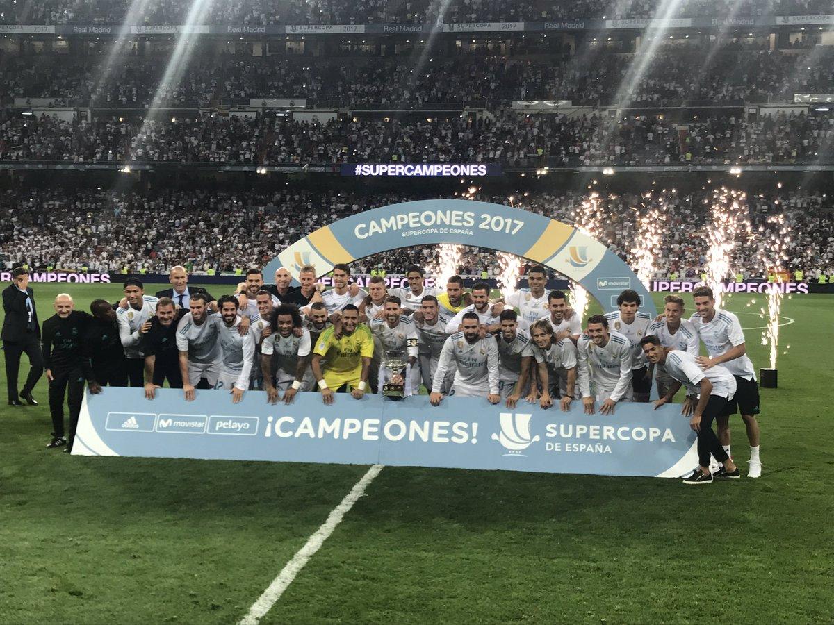 بالفيديو: ريال مدريد بطلاً لكأس السوبر الإسباني على حساب برشلونة