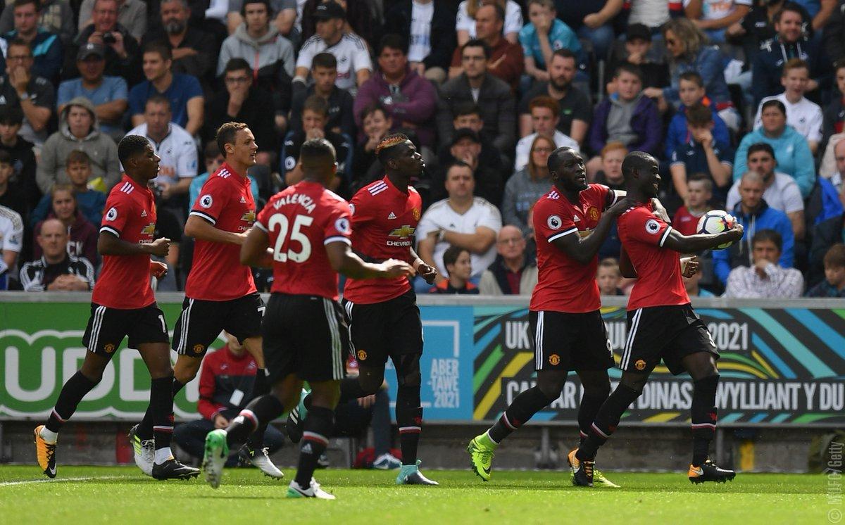 أهداف مباراة مانشستر يونايتد وسوانزي سيتي 4-0 الدوري الإنجليزي
