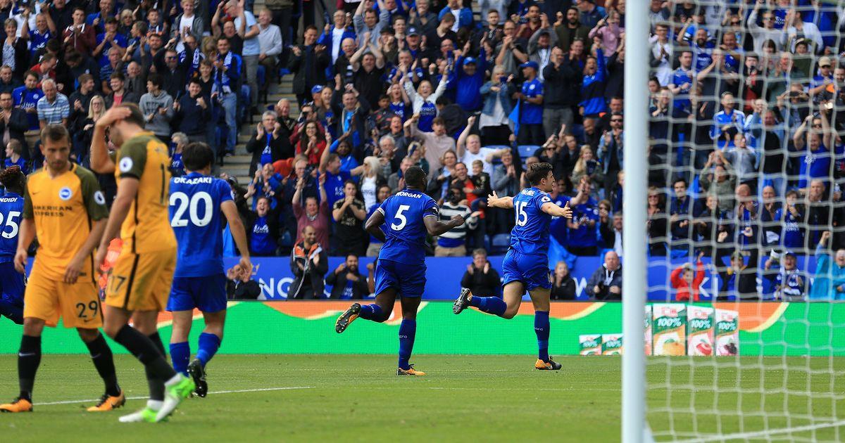 أهداف مباراة ليستر سيتي وبرايتون 2-0 الدوري الإنجليزي