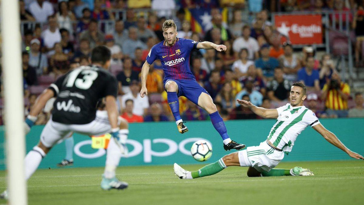 أهداف مباراة برشلونة وريال بيتيس 2-0 الدوري الإسباني