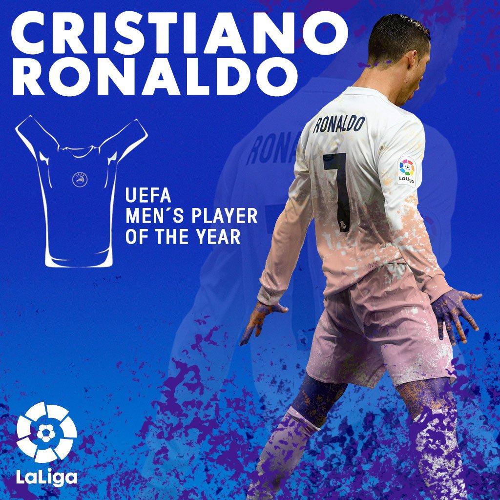 رسمياً … كريستيانو رونالدو أفضل لاعب في أوروبا لعام 2017