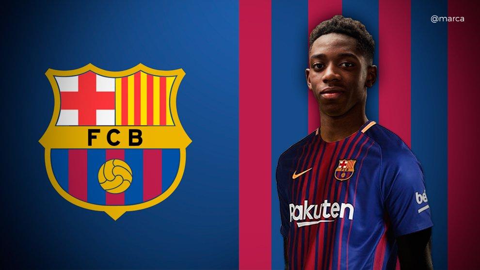 رسمياً … ديمبلي ينتقل إلى برشلونة مقابل 105 ملايين يورو