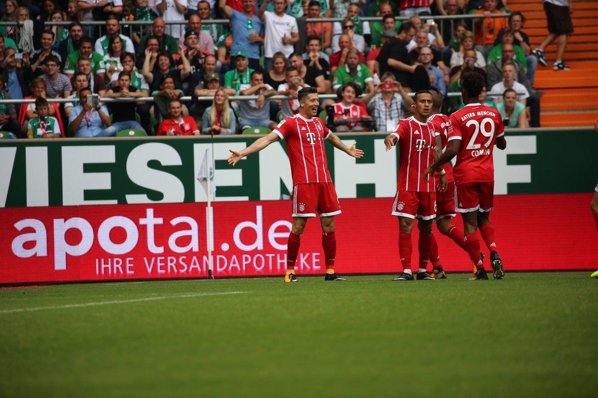 أهداف مباراة بايرن ميونخ وفيردير بريمن 2-0 الدوري الألماني