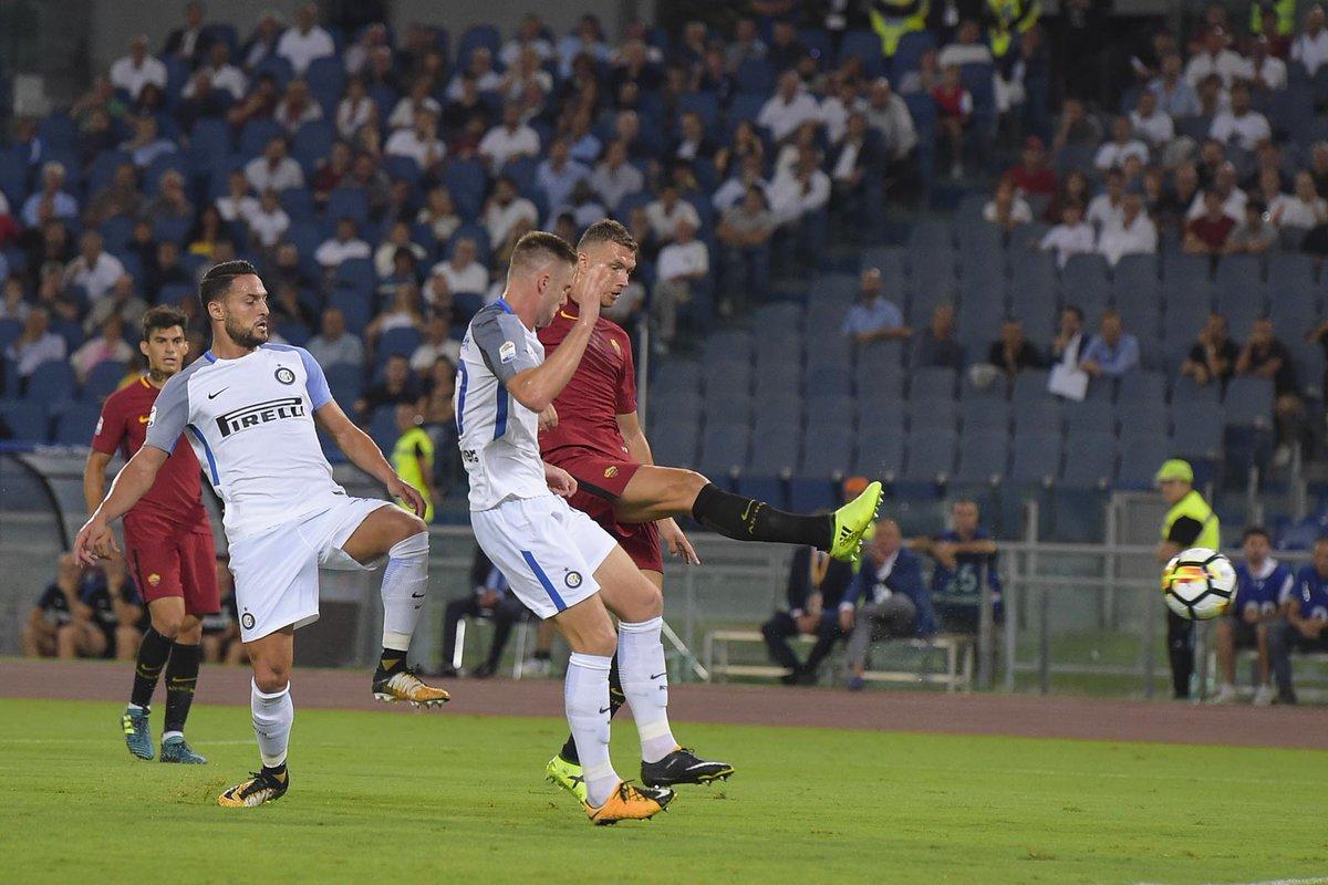أهداف مباراة إنتر وميلان وروما 3-1 الدوري الإيطالي