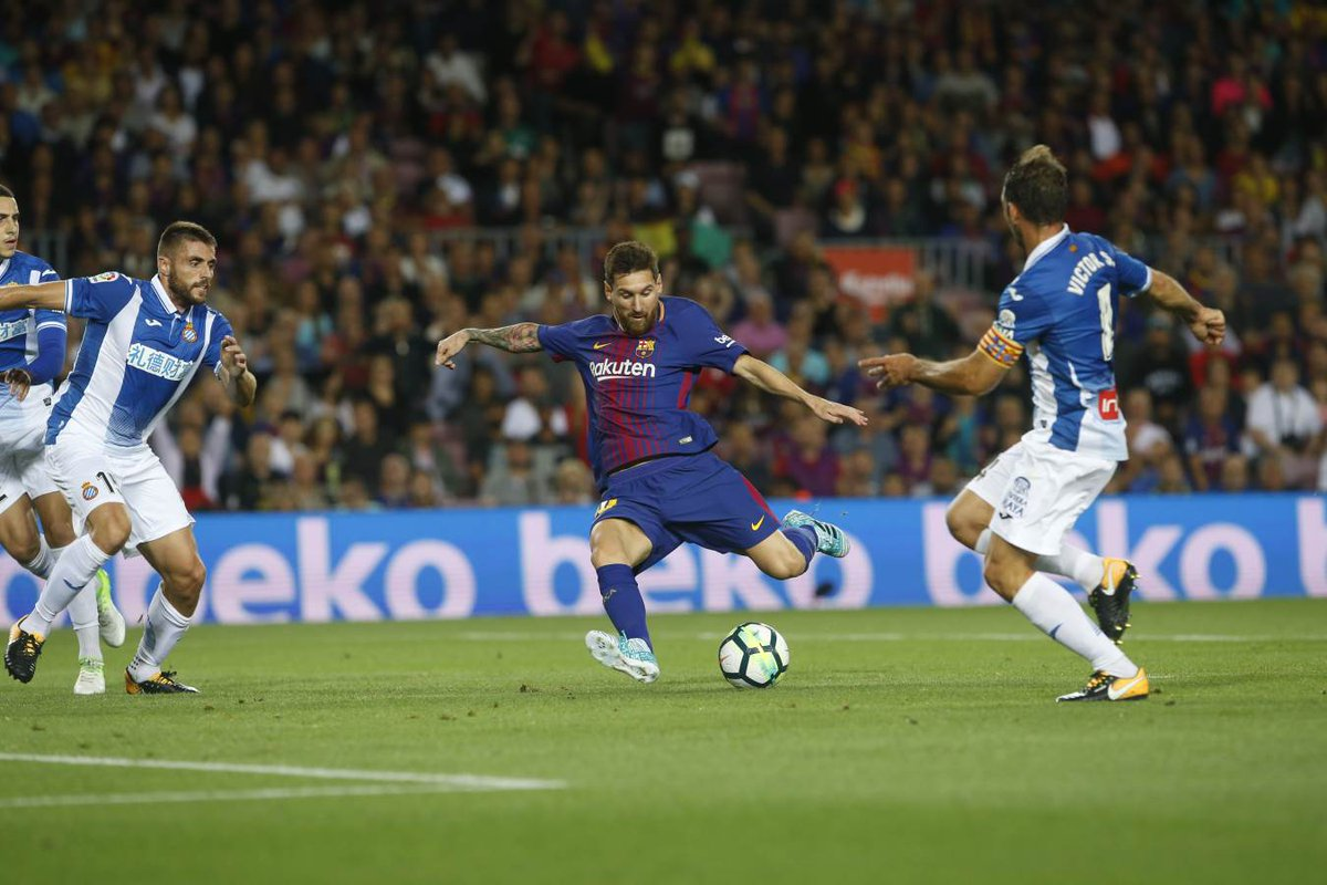 أهداف مباراة برشلونة وإسبانيول 5-0 الدوري الإسباني