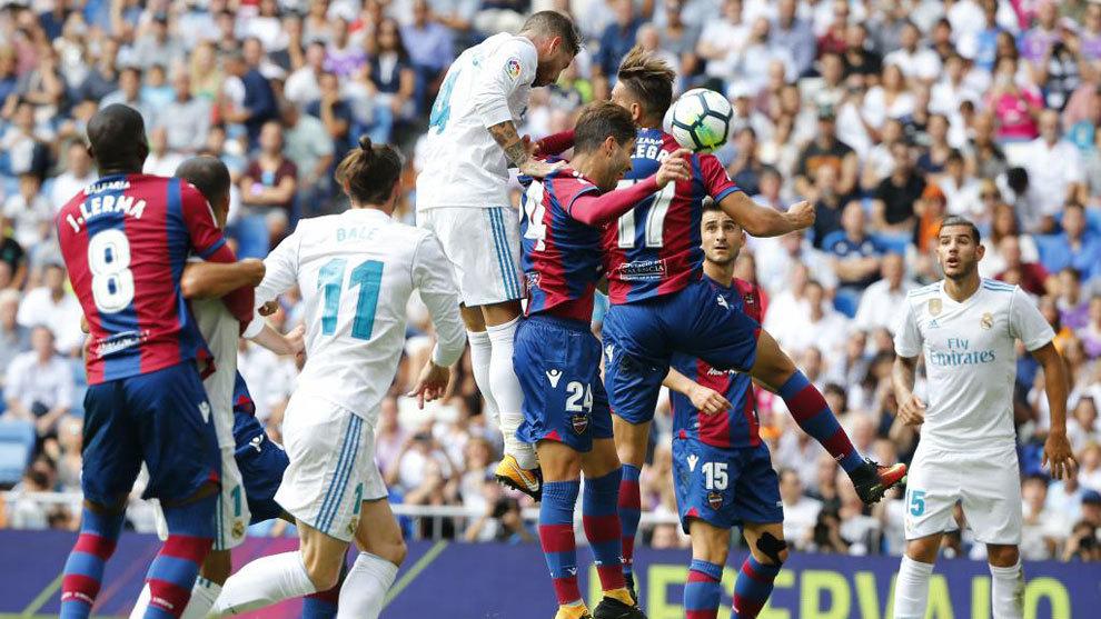 أهداف مباراة ريال مدريد وليفانتي 1-1 الدوري الإسباني