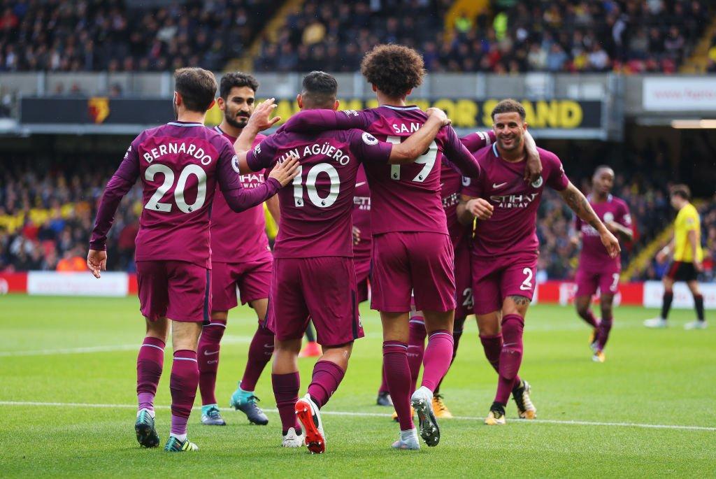 أهداف مباراة مانشستر سيتي وواتفورد 6-0 الدوري الإنجليزي