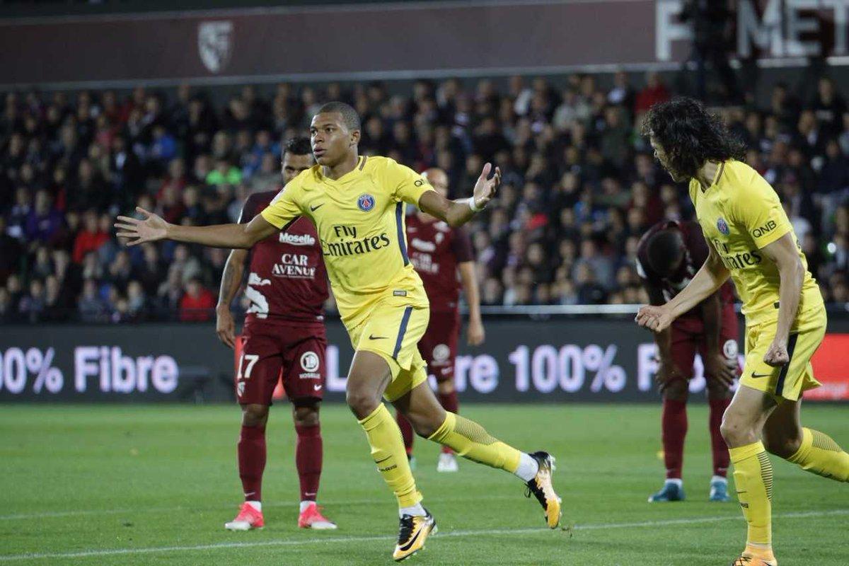 أهداف مباراة باريس سان جيرمان و ميتز 5-1 الدوري الفرنسي