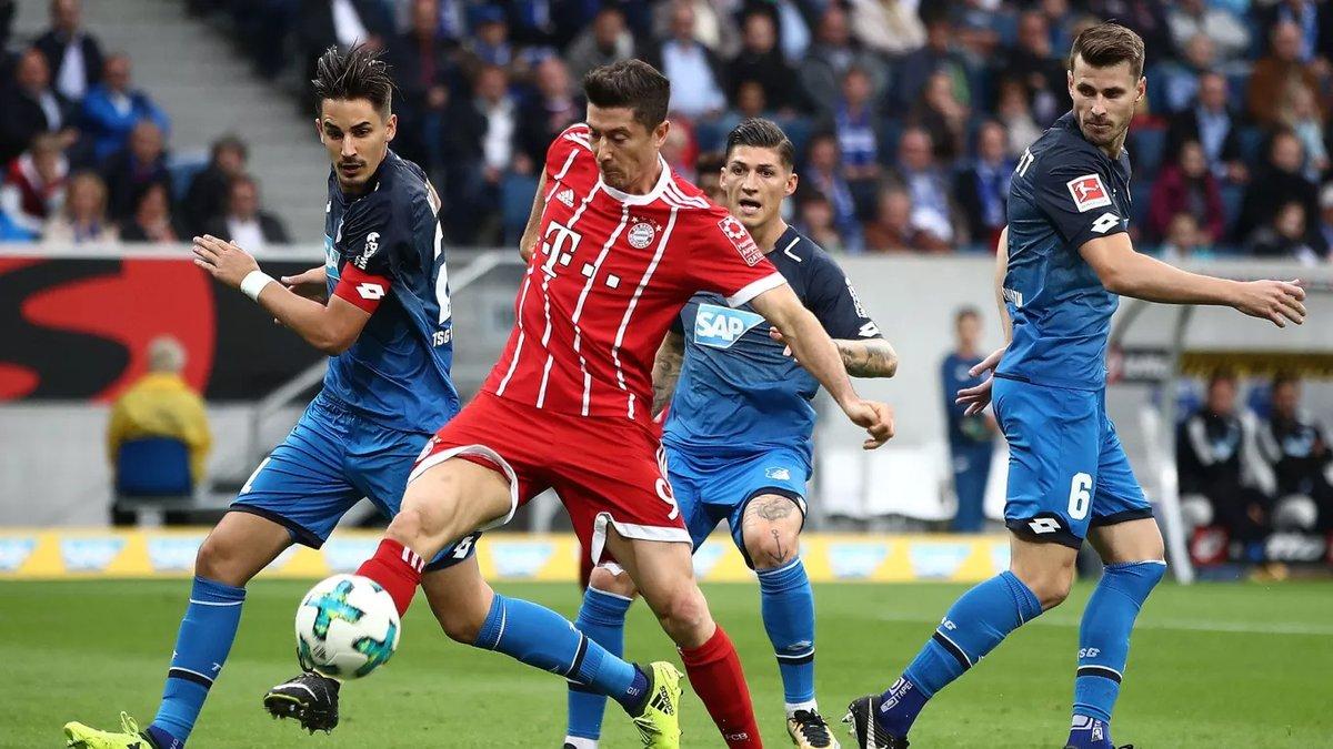 أهداف مباراة هوفينهايم وبايرن ميونخ 2-0 الدوري الألماني