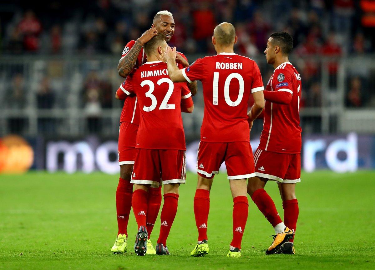 أهداف مباراة بايرن ميونخ و أندرلخت 3-0 دوري الأبطال