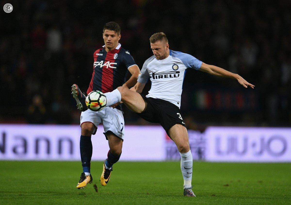 أهداف مباراة إنتر ميلان وبولونيا 1-1 الدوري الإيطالي