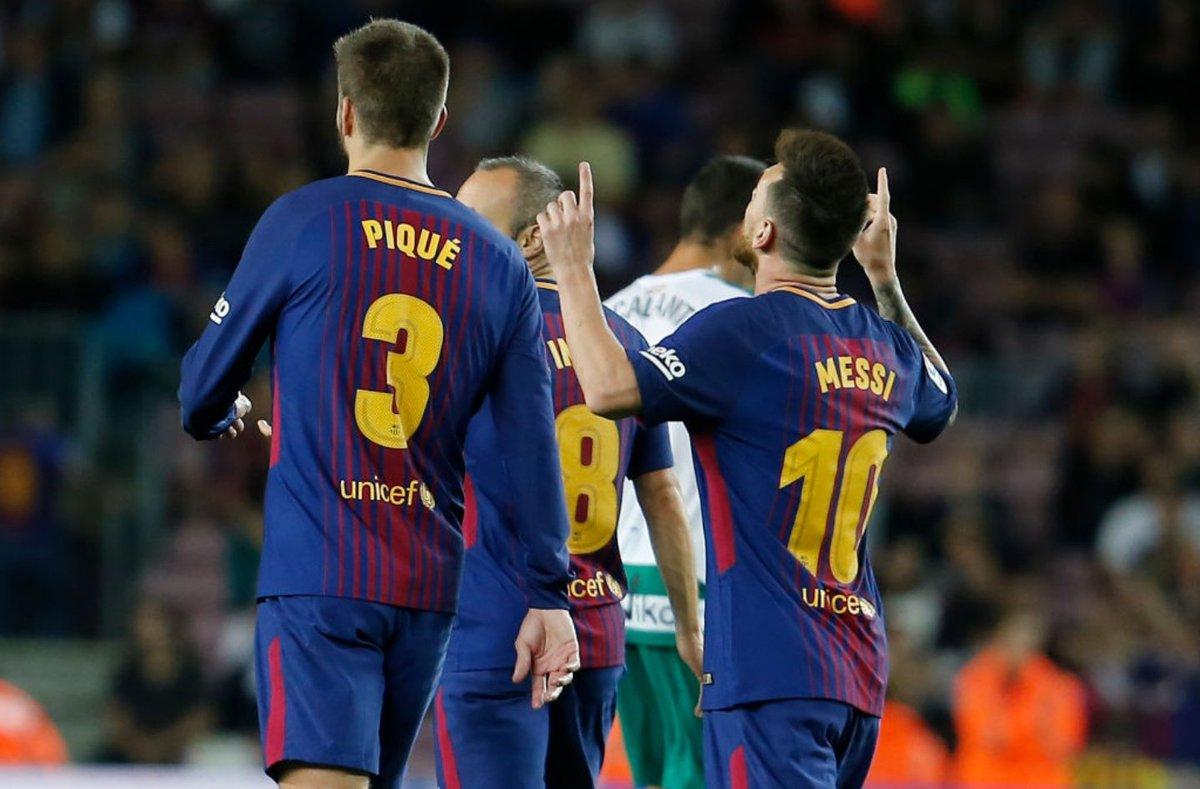 أهداف مباراة برشلونة وإيبار 6-1 الدوري الإٍسباني