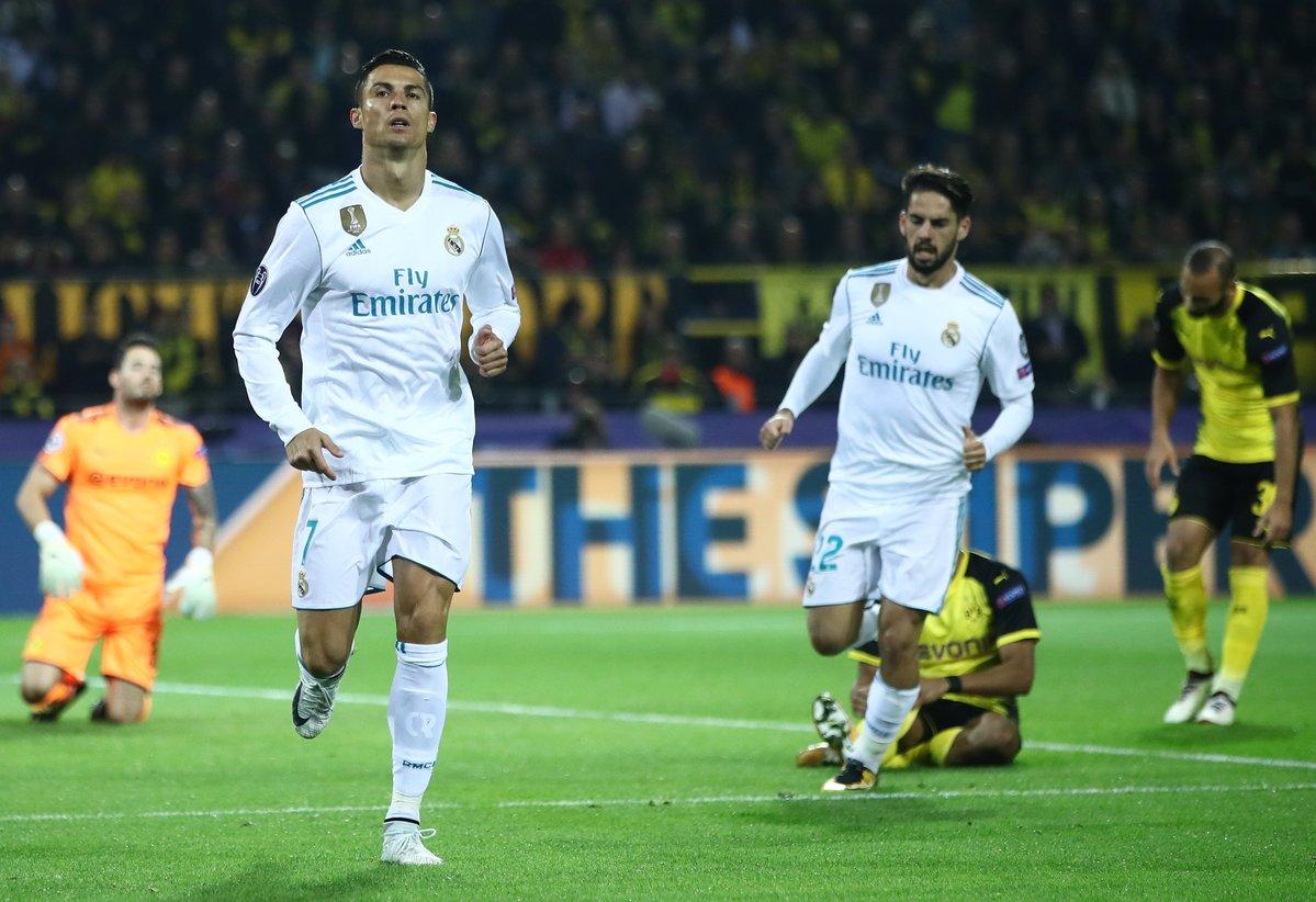 أهداف مباراة ريال مدريد وبروسيا دورتموند 3-1 دوري الأبطال