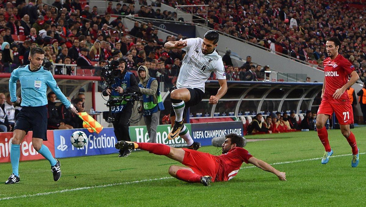 أهداف مباراة ليفربول وسبارتاك موسكو 1-1 دوري الأبطال
