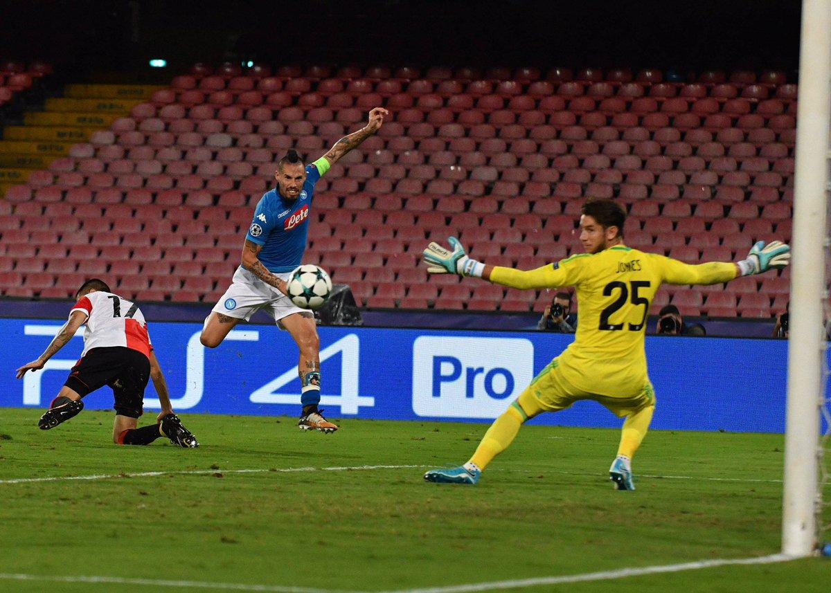 أهداف مباراة نابولي وفينورد  3-1 دوري الأبطال