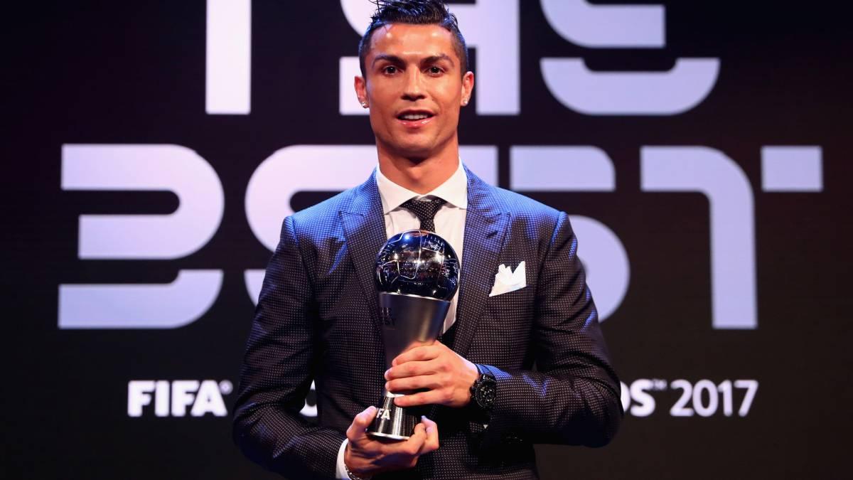 رسمياً … كريستيانو رونالدو أفضل لاعب في العالم لعام 2017