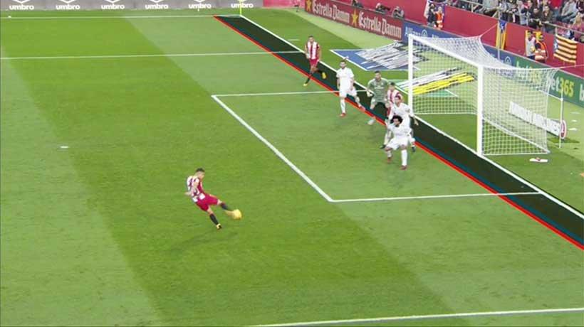 أنت الحكم … هل هدف جيرونا الثاني في مرمى ريال مدريد من تسلل ؟